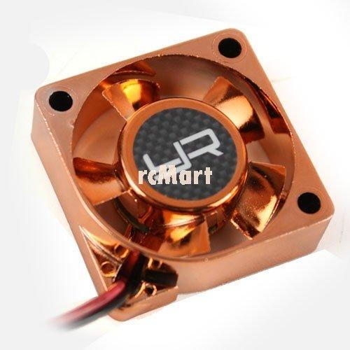 Yeah Racing Tornado High Speed Cooling Fan Orange 30x30mm For Motor Heat Sink #YA-0180OR