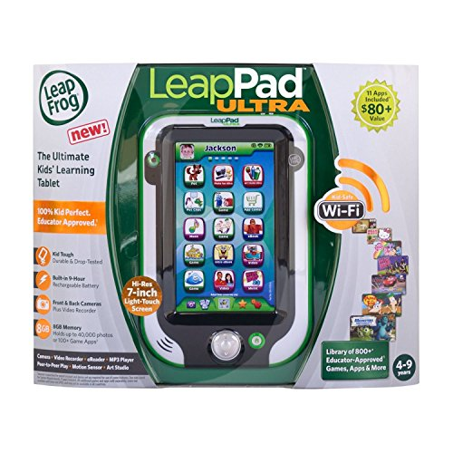 LeapFrog LeapPad Ultra XDi Learning Tablet Green 33200
