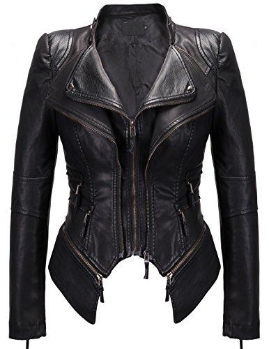 Vintage Leather Biker Jacket - 3