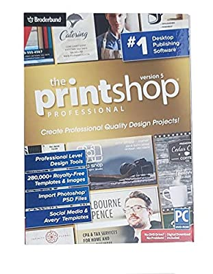 The Print Shop Professional Version 5 - Windows PC DVD-ROM with Digital Download