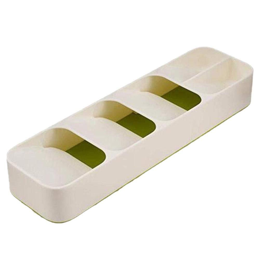 Tablett f/ür Besteck Ruier-hui Aufbewahrungsbox f/ür K/üchenschubladenbesteck Aufbewahrungsbox f/ür Geschirrorganizer Wonderful Organizer L/öffel Gabel