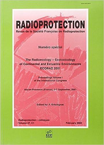 Téléchargement Ecorad 2001 the Radioecology-Ecotoxicology of Continental T1 pdf