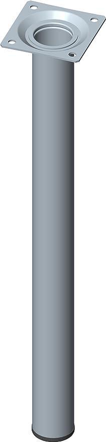 Element System 4 pcs pies de tubo de acero redondo, patas ...