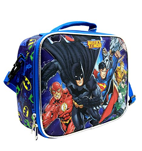 Justice League 10'' Lunch Bag/Box #JL35506