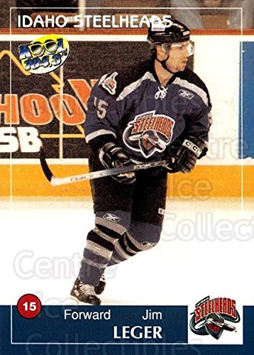 ((CI) Jim Leger Hockey Card 2004-05 Idaho Steelheads 11 Jim Leger)