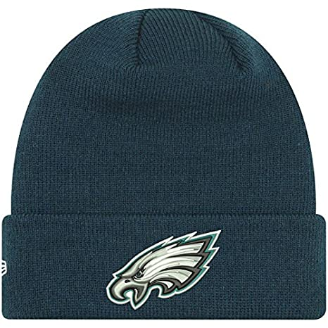 dce4d586b Amazon.com : Philadelphia Eagles New Era Infant My First Cuffed Knit ...