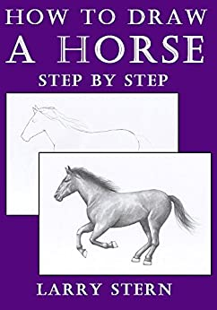 easy steps on how to draw a horse