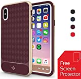iPhone X Case Set with Screen Protector & Microfiber Cloth - Ultra Thin