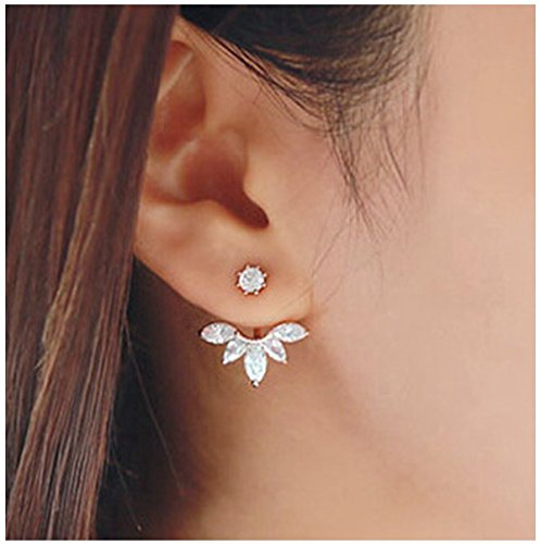 Elensan Fashion Plated Crystal Earrings product image
