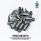 MESGS 36 Piece Master Hex Bit Socket Set, S2