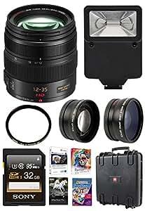 Panasonic LUMIX G X VARIO 12 35mm Lens Bundle with Corel Organization and Cre...
