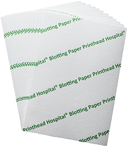 Heavyweight A5 Blotting Paper (10 Sheets) for Caligraphy and Inkjet Printer Cleaning