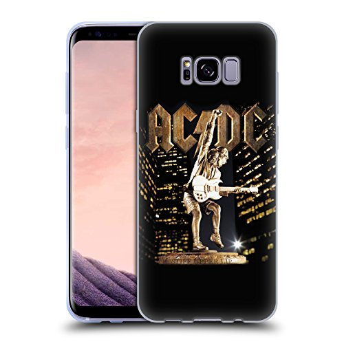 Stiff Upper Lip Album Art Soft Gel Case for Samsung Galaxy S8+ / S8 Plus (Ac Dc Stiff Upper Lip Album)