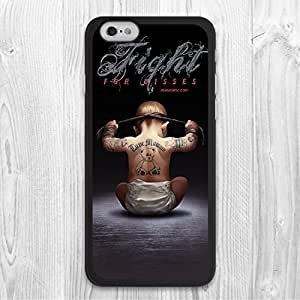 """For iPhone 6 / 6 Plus Case, Fight For Kiss Pattern Fashion Design Protective Hard Phone Cover Skin Case For iPhone 6 (4.7"""") + Screen Protector"""