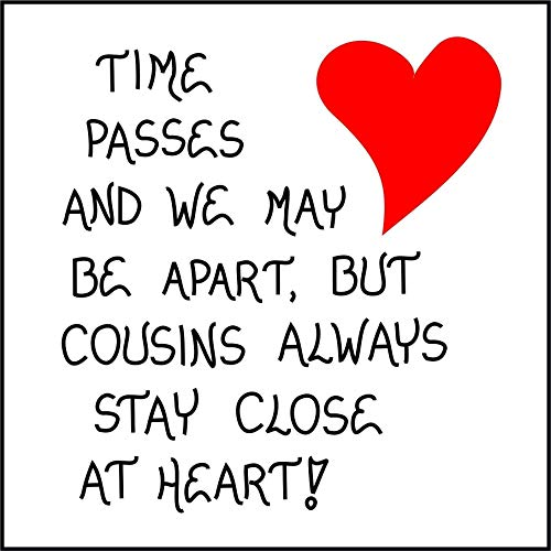 Magnet - Cousin Theme Quote, Relatives, Best Friends,