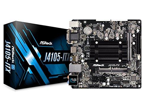 (ASRock J4105-ITX Intel 2.5GHz/DDR4/SATA3&USB3.1/M.2/A&V&GbE/Mini-ITX Motherboard & CPU Combo)