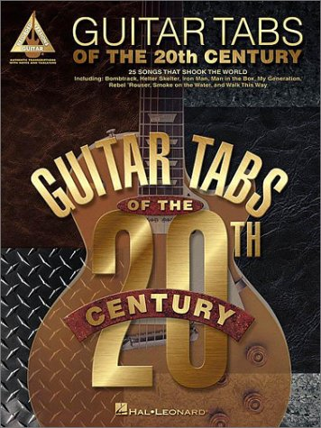 Read Online Guitar Tabs of the 20th Century pdf