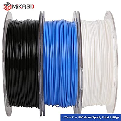 Shiny Silk Gold Silver Copper PLA Filament Bundle, 1.75mm 3D Printer Filament, Each Spool 0.5kg, 3 Spools Pack