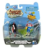 "Finn & Marceline ~2"" Mini-Figures: Adventure Time with Finn & Jake 2 Mini-Figure Collector's Pack"
