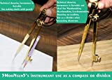 5MoonSun5's 8 Inch Large Pencil Marking Compass