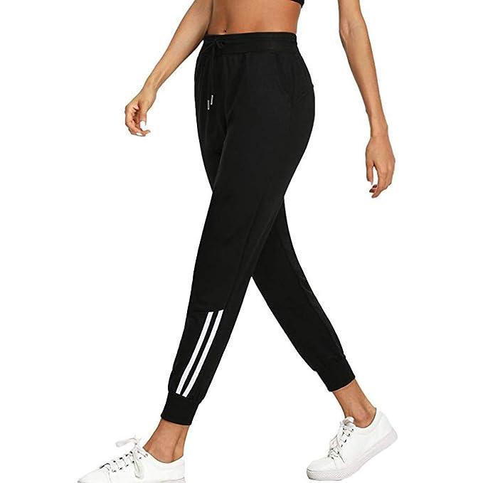 Pantalones Largos para Mujer Deporte Verano Running PAOLIAN ...