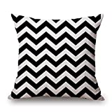 slimmingpiggy geometric cushion covers 20 x 20 inches / 50 by 50 cm best choice for sofa,relatives,divan,bedding,adults,relatives with twice sides
