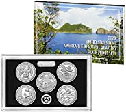 2020 S America the Beautiful Quarters Silver Proof Set Mint Packaged