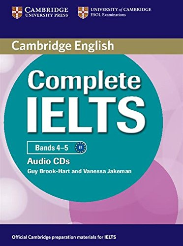 Complete IELTS Bands 4-5 Class Audio CDs (2) by Cambridge English