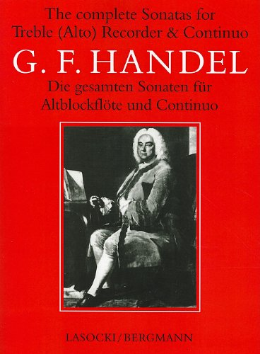 Complete Sonatas Recorder (Faber Edition)