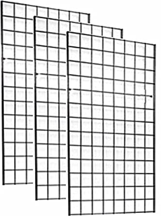 Wire Grids | Amazon Com 2 X 4 Foot Commercial Grade Wire Grid Wall Panel