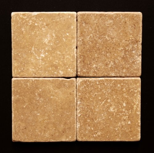 Noce 6X6 Travertine Tumbled Tile