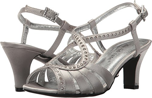 (David Tate Women's Whisper Silver 11 AA US)