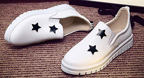 Aisun Confortable Etoiles Chaussures Femme Plates rOfzr64