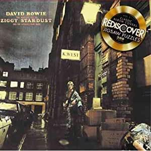 Rediscover Jigsaw Puzzles - David Bowie - The Rise and Fall of Ziggy Stardust and The Spiders from Mars
