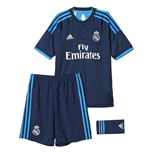 Adidas 3ª Equipación Real Madrid CF SMU Mini - Conjunto: Amazon.es: Deportes y aire libre