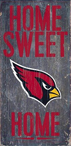 Arizona Cardinals Wood Sign - Home Sweet Home 6