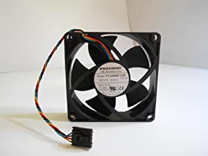 FOXCONN PVA080F12H 12V 0.36A 4WIRE 4.32W 8020 COOLING FAN