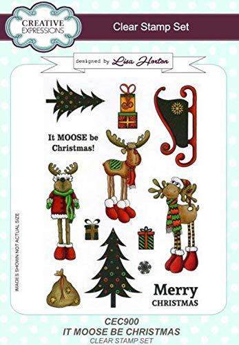 Set de sellos transparentes tama/ño A5 Lisa Horton