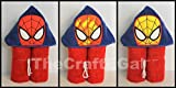 Spider Web Hero COLOR CHANGE Hooded Bath Towel - Baby, Child, Tween