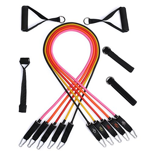 ICode Sports Resistance Band Set With 5 Best Quality Bands