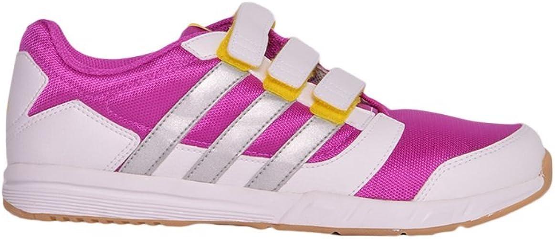 adidas - Zapatillas para deportes de interior para niña rojo fucsia Talla:35: Amazon.es: Deportes y aire libre