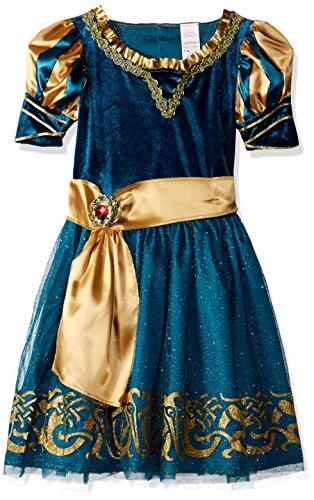 Disguise Merida Classic Disney Princess Brave Disney/Pixar Costume, Medium/7-8 (Scottish Girl Halloween Costume)