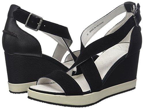 Wellton Donna Pldm Aperta Mix By Nero Sandali Punta black Palladium O1REr1