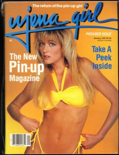 Girl Ujena - Ujena Girl The New Swimsuit Pin-Up Magazine January 1987 Premier Issue