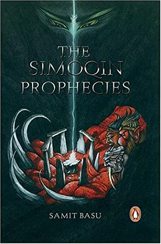 book cover of The Simoqin Prophecies