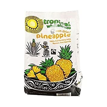 Sun Dried Pineapple Tropical Wholefoods 100g