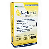 American BioSciences Metatrol | Mitochondrial Rescue & Daily Immune System Support | Fermented Wheat Germ Extract – Super Concentrate | 60 Vegetarian Capsules, 41mg of FWGE-SC per Serving