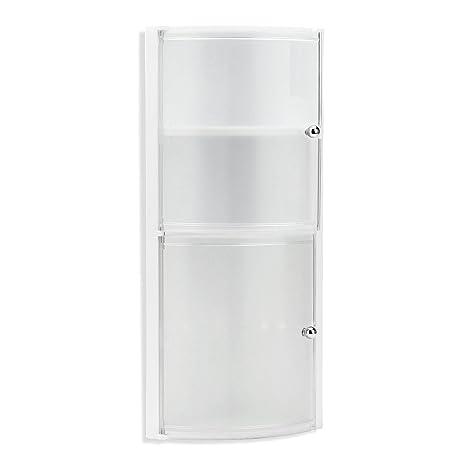 Tatay 4434001 - Mobile da bagno ad angolo, con 2 ante in plastica ...