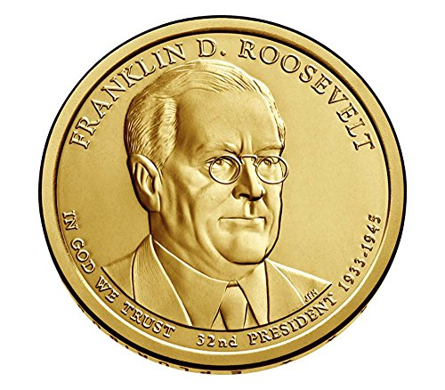 2014 D Presidential Franklin Roosevelt Dollar Choice Uncirculated