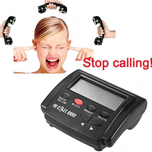 FidgetFidget Caller ID Box+Cable for Mobile Tele Display Hot Sale Sell DTMF FSK